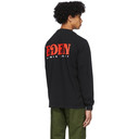 EDEN power corp Black Logo Long Sleeve T-Shirt