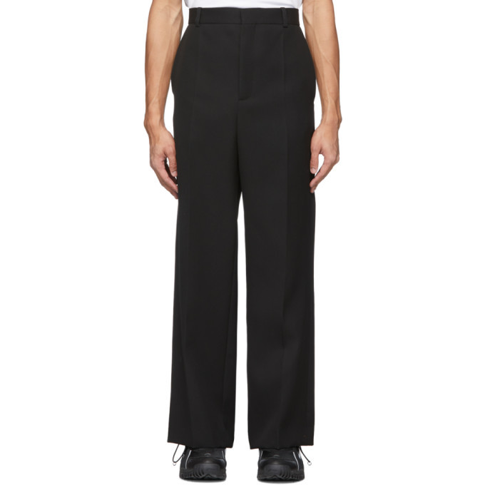 Botter Black Classic Flared Trousers
