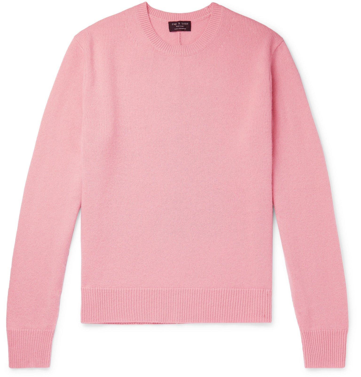 Photo: rag & bone - Haldon Cashmere Sweater - Pink