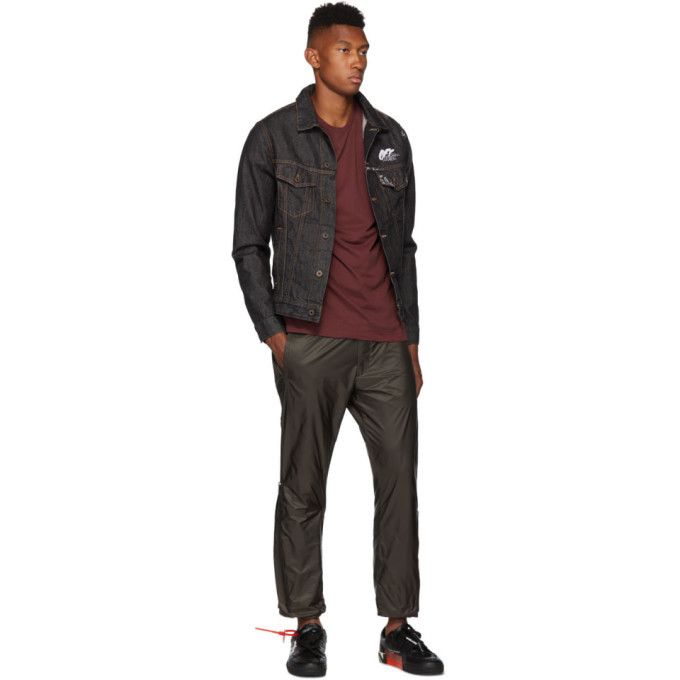 Off-White Black Arrow Slim Denim Jacket