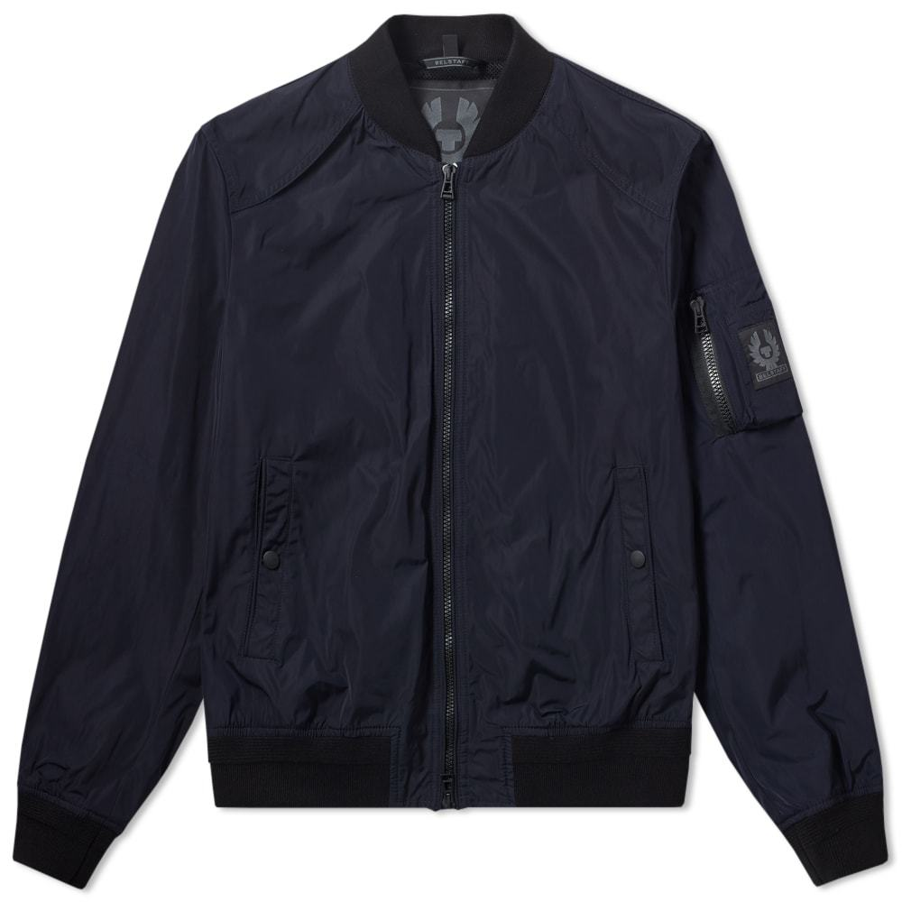 Belstaff Mallison Bomber Jacket Blue