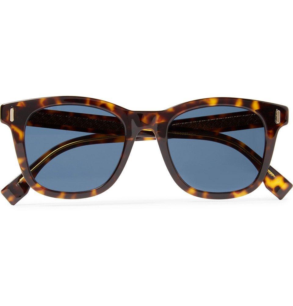 Photo: Fendi - D-Frame Tortoiseshell Acetate Sunglasses - Brown