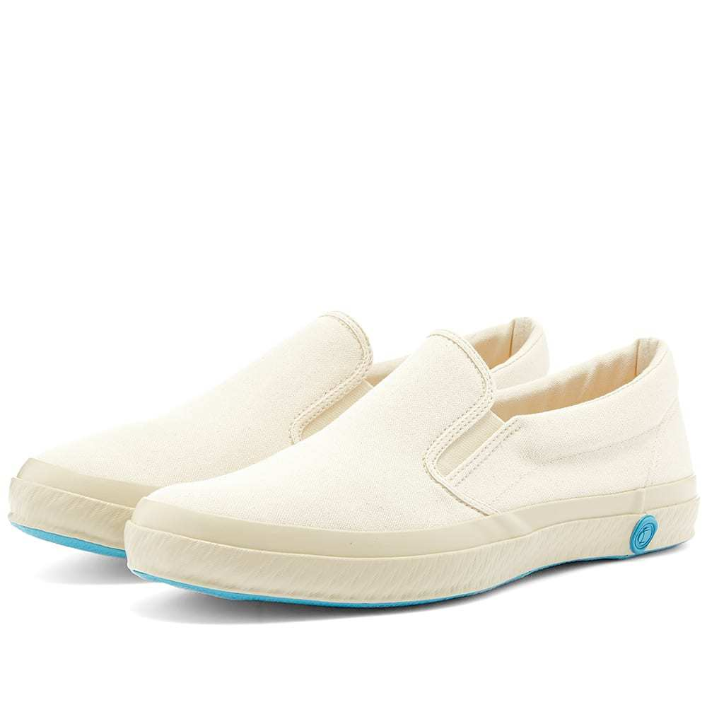Photo: Shoes Like Pottery SLP02 JP Slip On Sneaker White