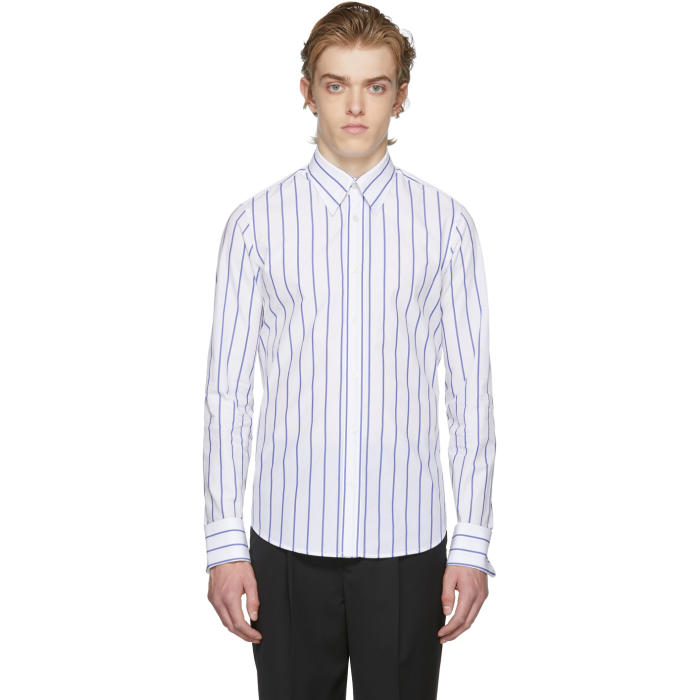 Photo: Kenzo White Stripe Oversized 60s Shirt