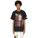 Raf Simons Black Christiane F. Detlef T-Shirt