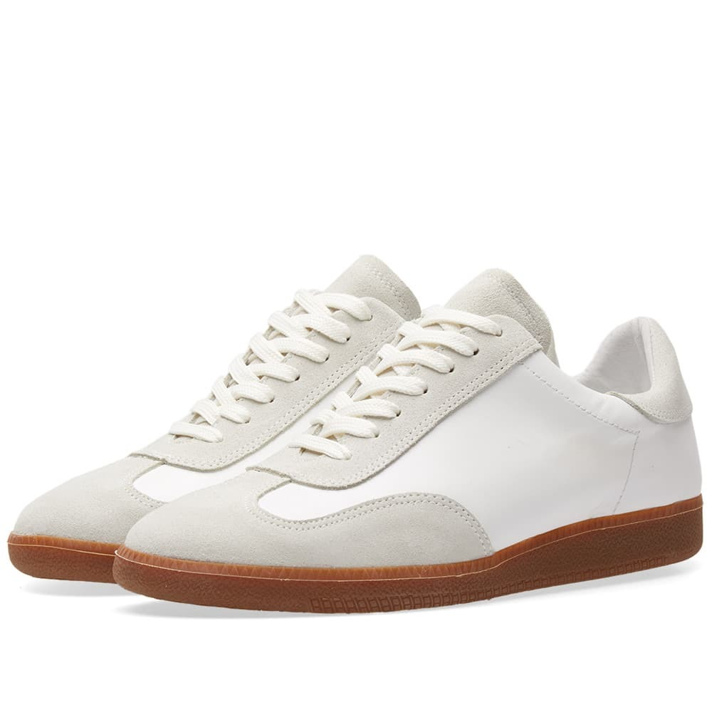 Wood Wood Caden Army Sneaker White
