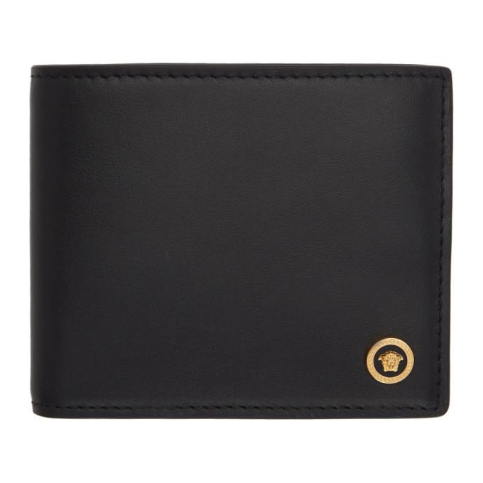 Photo: Versace Black Medusa Bifold Wallet