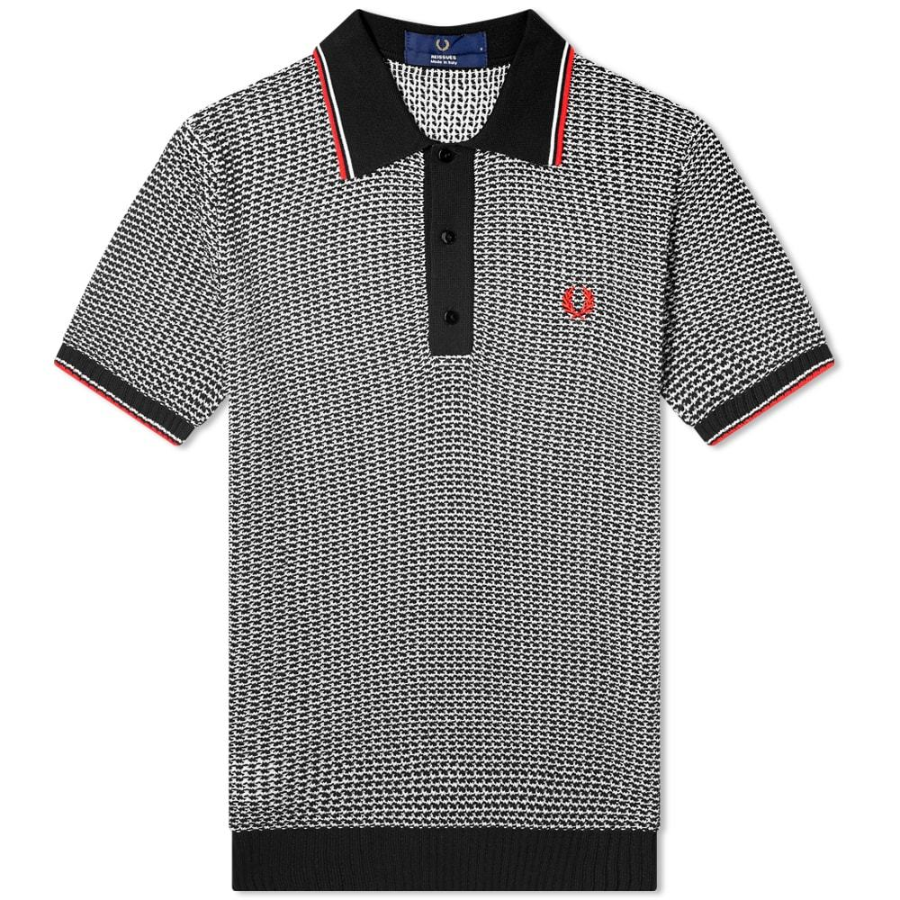 Photo: Fred Perry Reissues Jacquard Knitted Polo