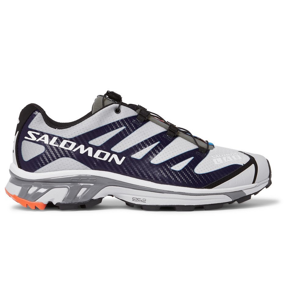 Photo: Salomon - S/LAB XT-4 ADV Running Sneakers - Gray
