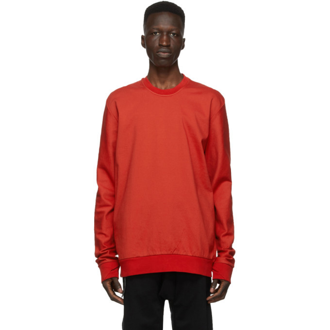 Photo: 11 by Boris Bidjan Saberi Red Dye Sweatshirt