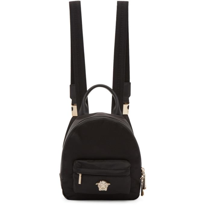 Photo: Versace Black Mini Palazzo Backpack