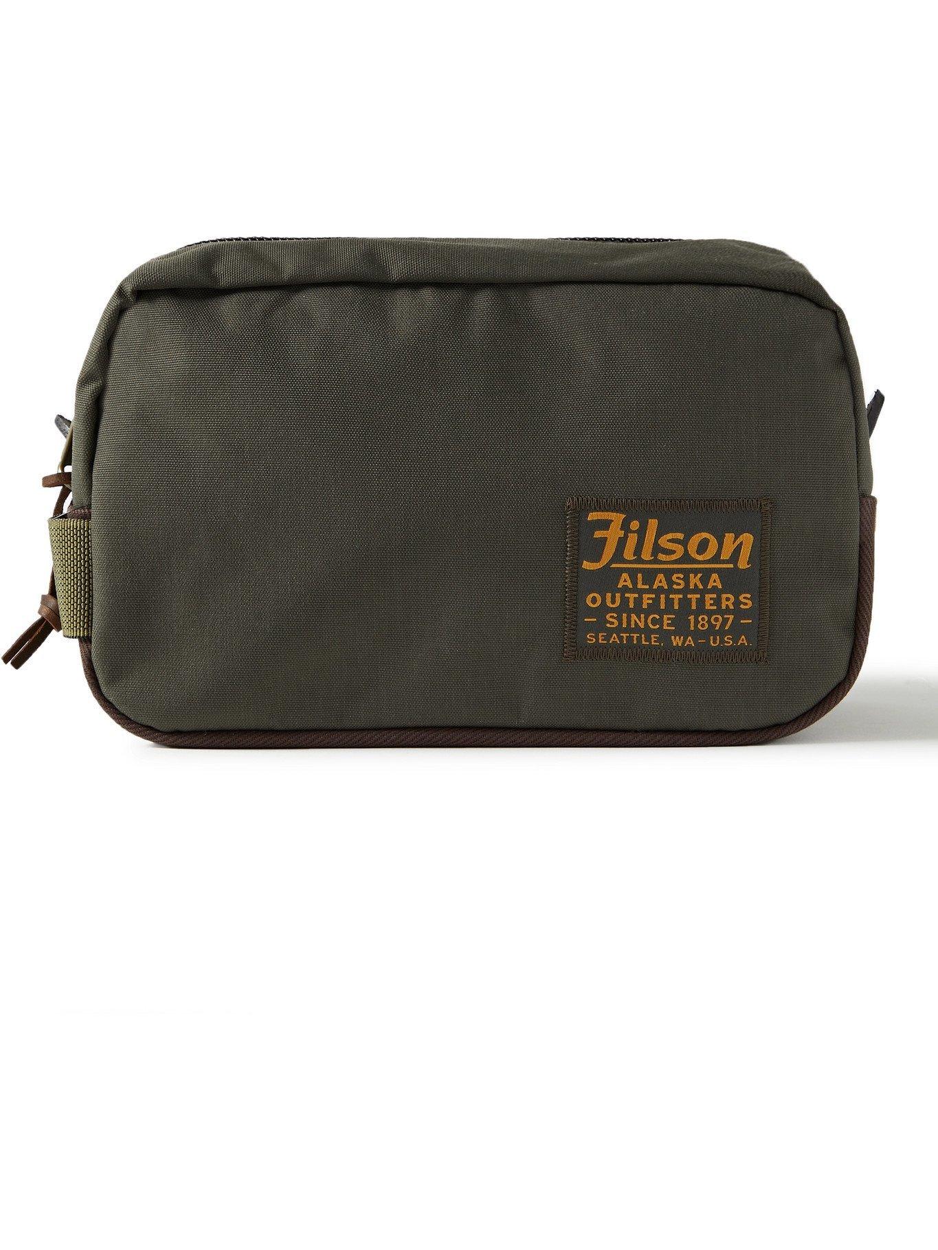 Photo: FILSON - Nylon Wash Bag - Green