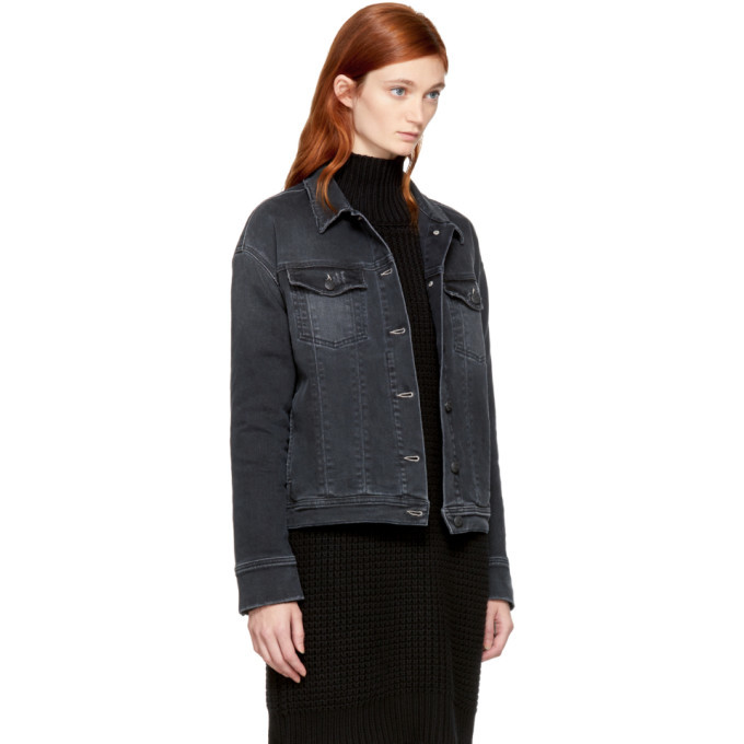 Won Hundred Black Denim Jackie Jacket