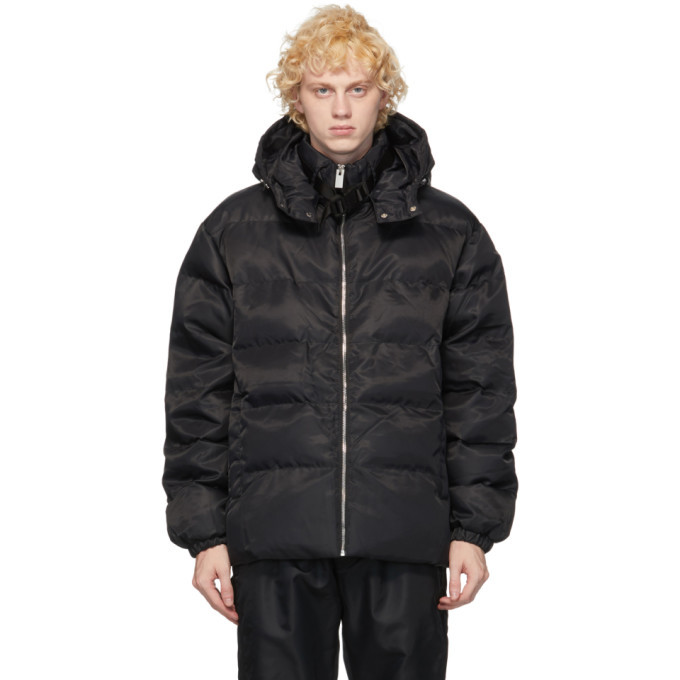 Photo: 1017 ALYX 9SM Black Buckle Puffer Jacket
