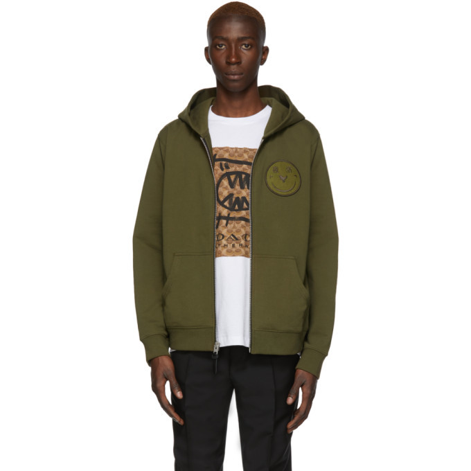 Photo: Coach 1941 Green Yeti Out Edition Rexy Zip Hoodie