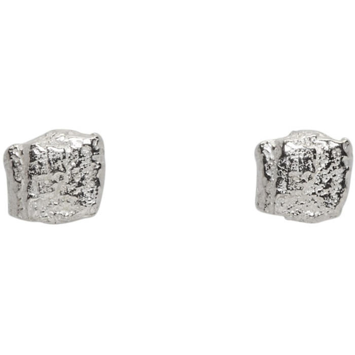 Photo: Pearls Before Swine Silver Forged Stud Earrings