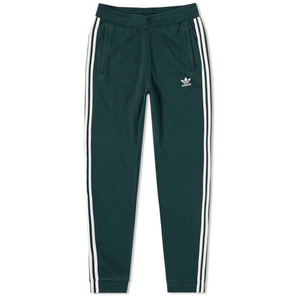 Adidas 3 Stripe Sweat Pant Green