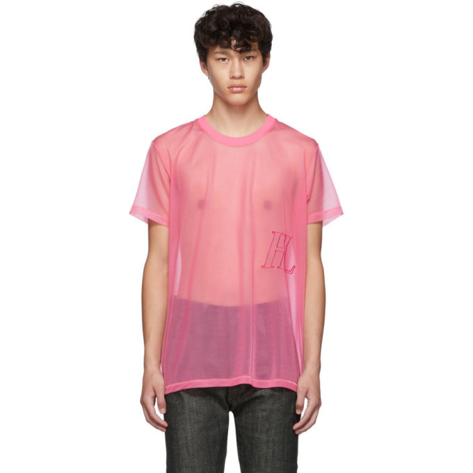 Photo: Helmut Lang Pink Organza Masc Little T-shirt