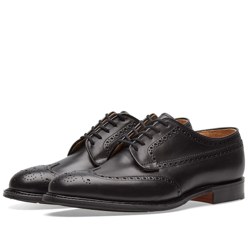 Photo: Church's Thickwood Longwing Brogue Black