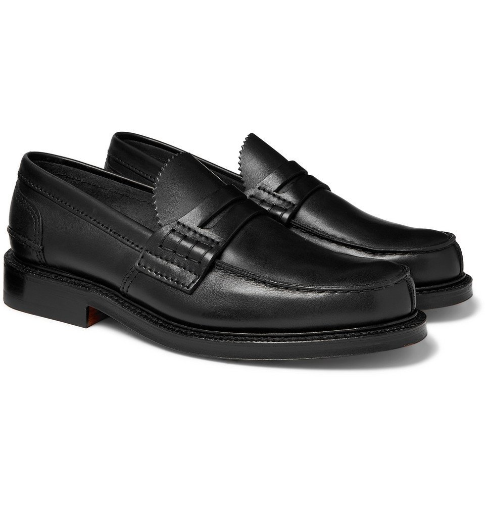 Photo: Church's - Willenhall Polished-Leather Penny Loafers - Black