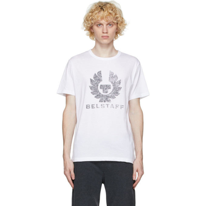 Photo: Belstaff White Coteland T-Shirt