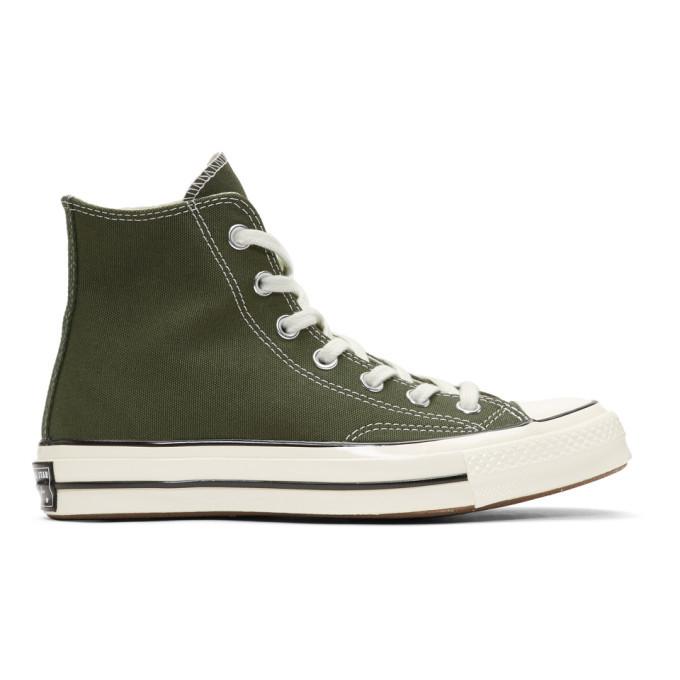Photo: Converse Green Chuck 70 High Sneakers