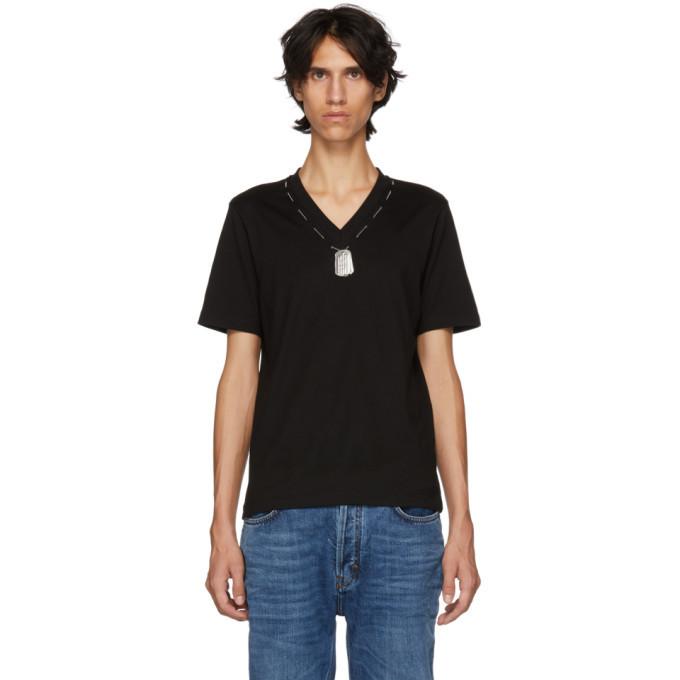 Photo: Linder Black Darby Dog Tag T-shirt