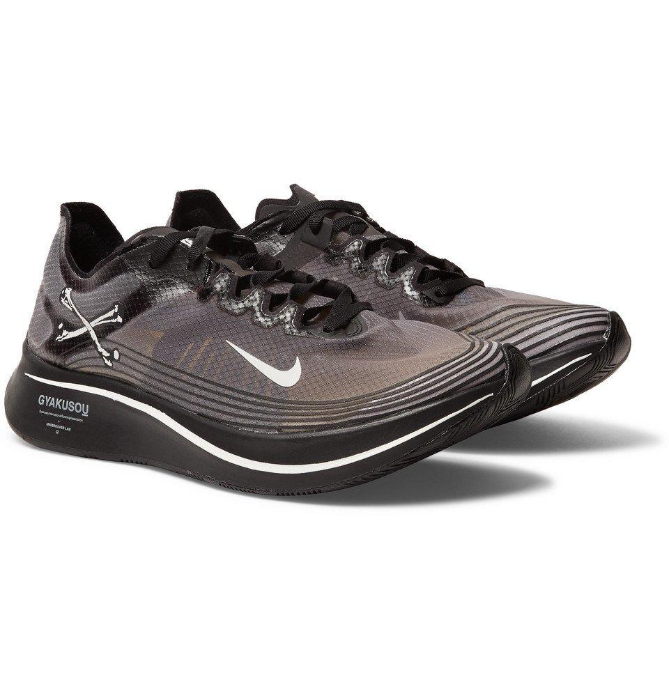 vacunación apertura rápido  Nike x Undercover - GYAKUSOU Zoom Fly SP Ripstop Sneakers - Black Nike x  Undercover