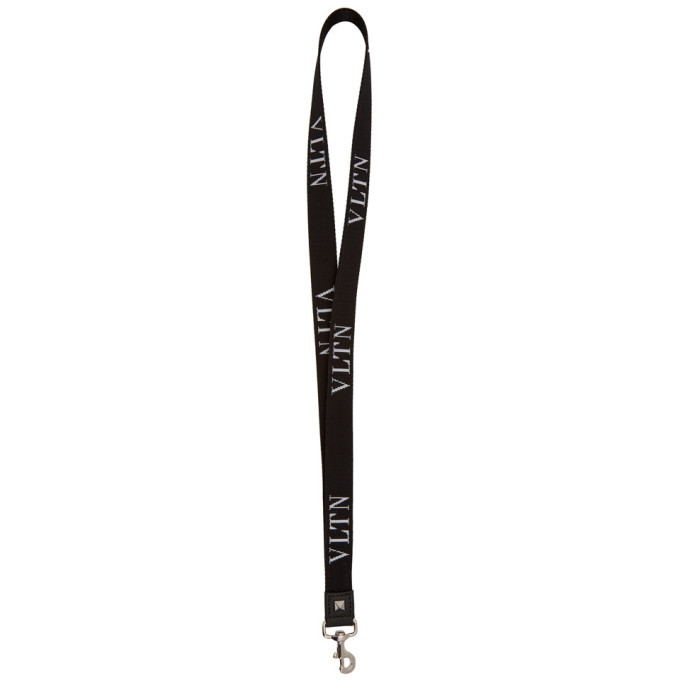 Photo: Valentino Black Valentino Garavani VLTN Bag Charm