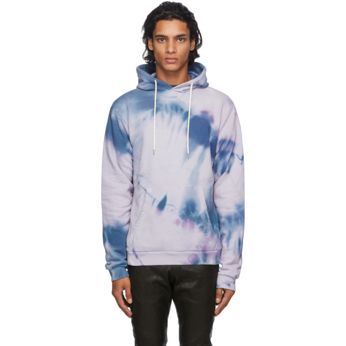 Photo: John Elliott Purple Tie-Dye Beach Hoodie