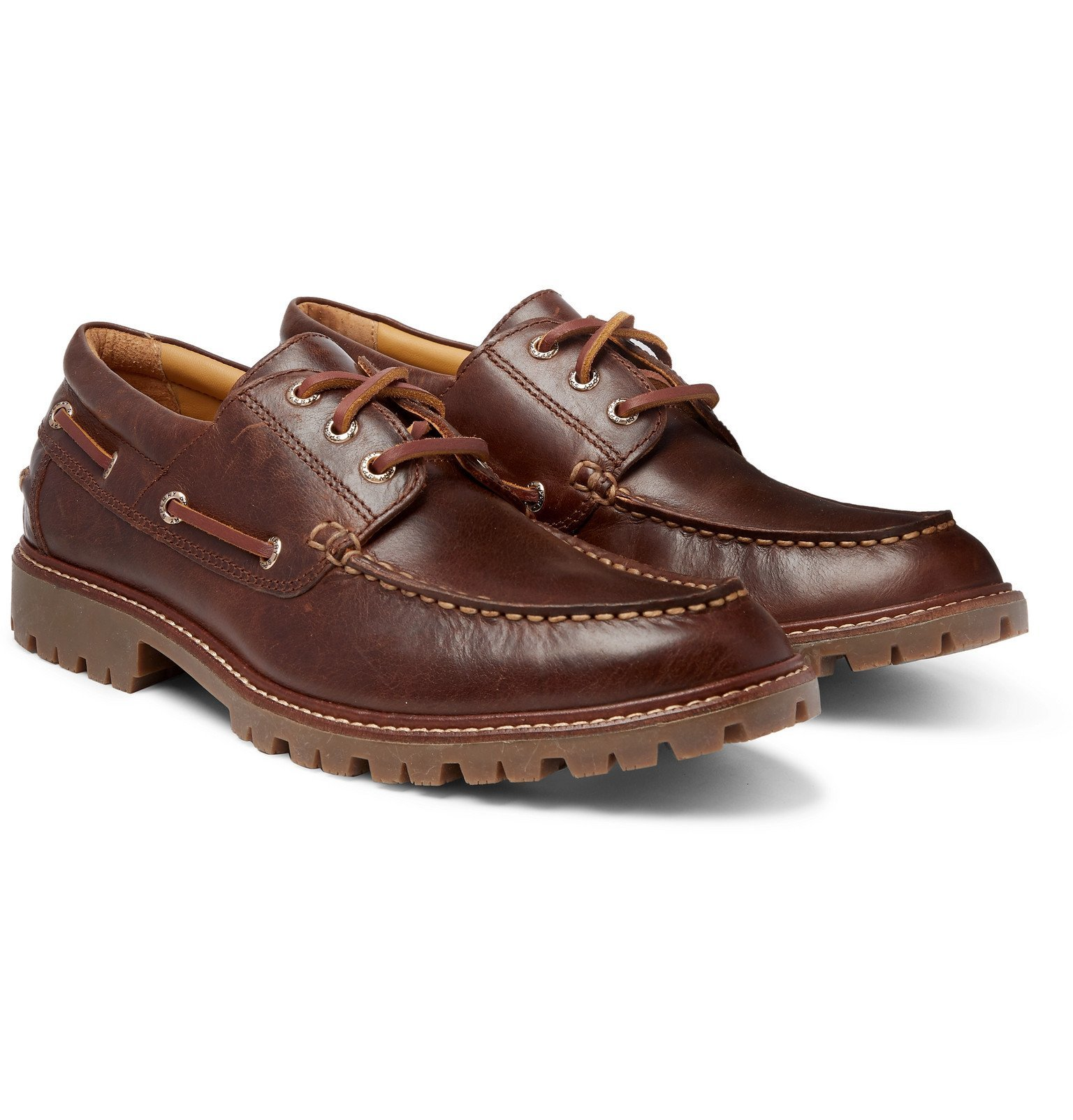 Photo: Sperry - Gold Cup Leather Boat Shoes - Brown