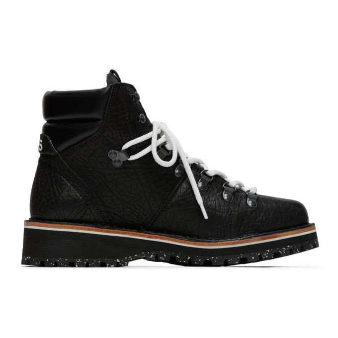 Photo: PS by Paul Smith Black Ash Hiking Boots