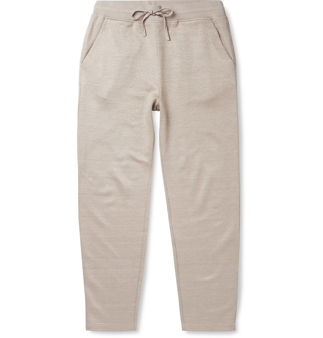 Photo: Loro Piana - Stretch Linen-Blend Sweatpants - Neutrals
