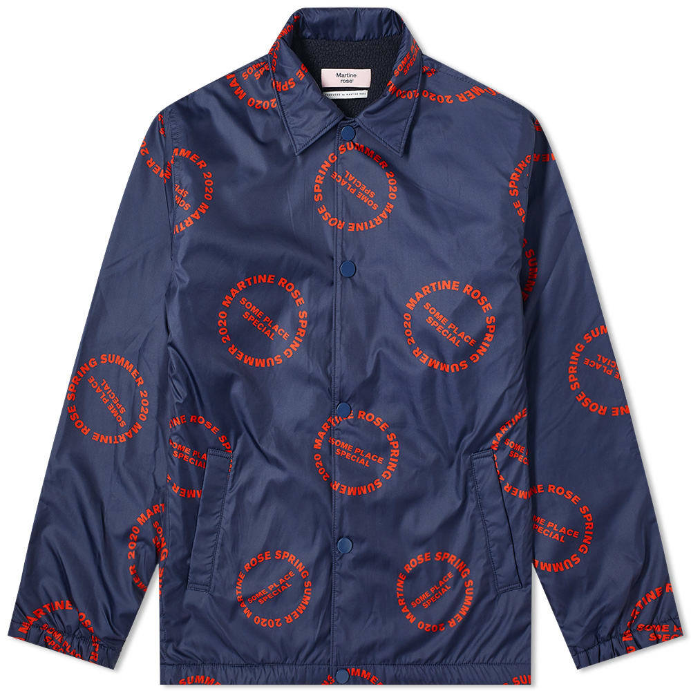 Martine Rose All Over Print Coach Jacket