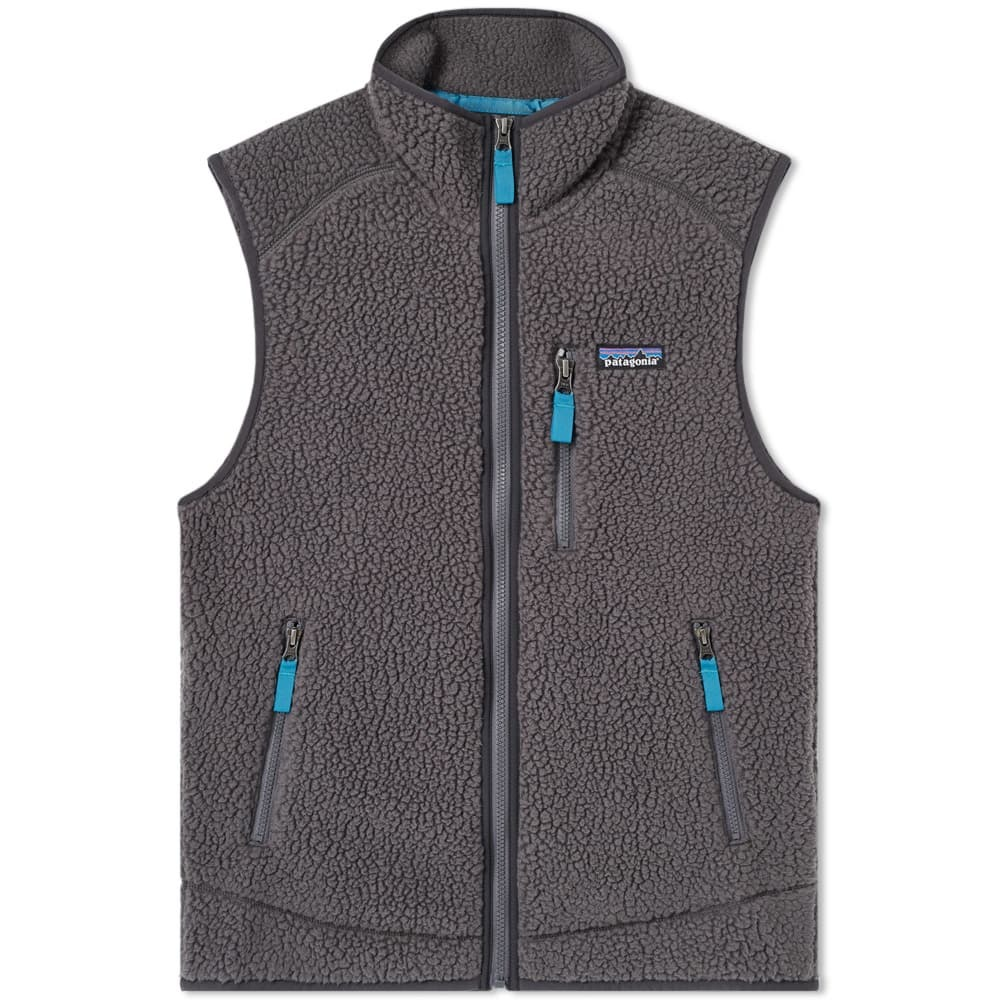 Photo: Patagonia Retro Pile Vest Grey