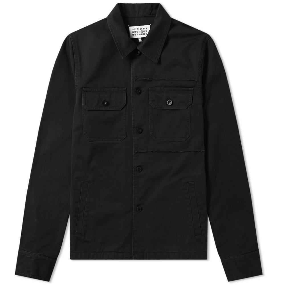 Photo: Maison Margiela 14 Distressed Shirt Jacket
