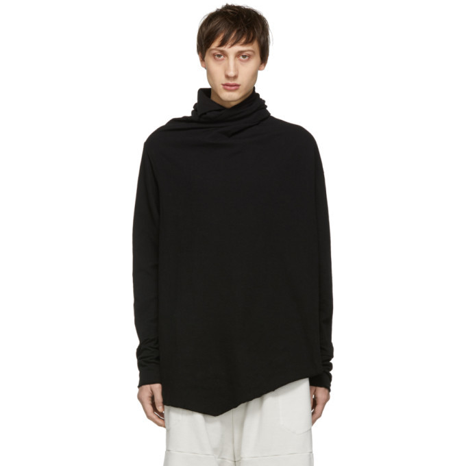 Photo: Julius Black Draped Turtleneck