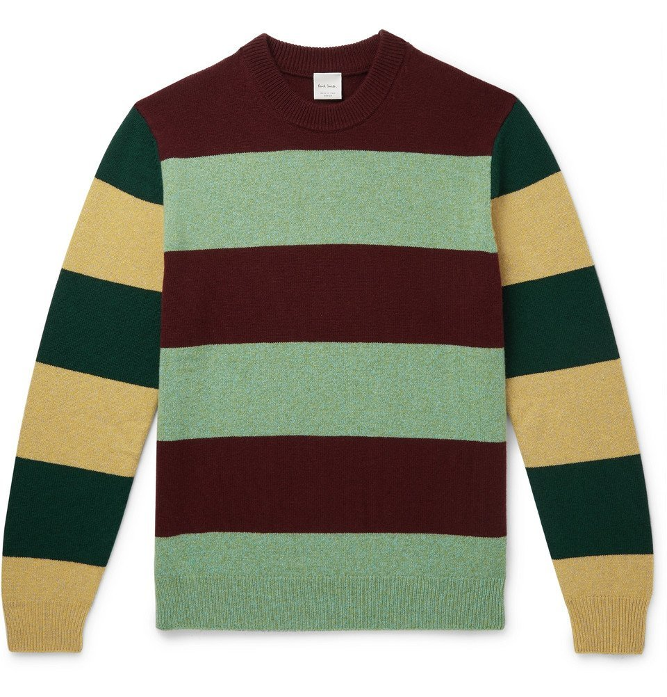 Photo: Paul Smith - Striped Wool Sweater - Multi