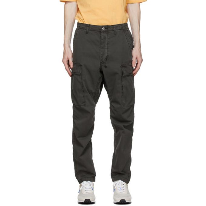 Ksubi Grey Frequency Cargo Pants