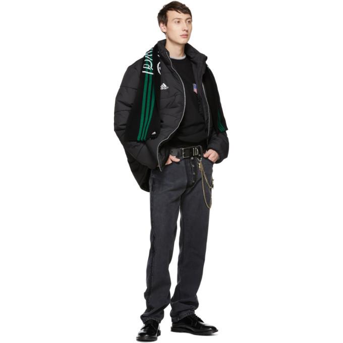 Gosha Rubchinskiy Black adidas Originals Edition Puffer Jacket