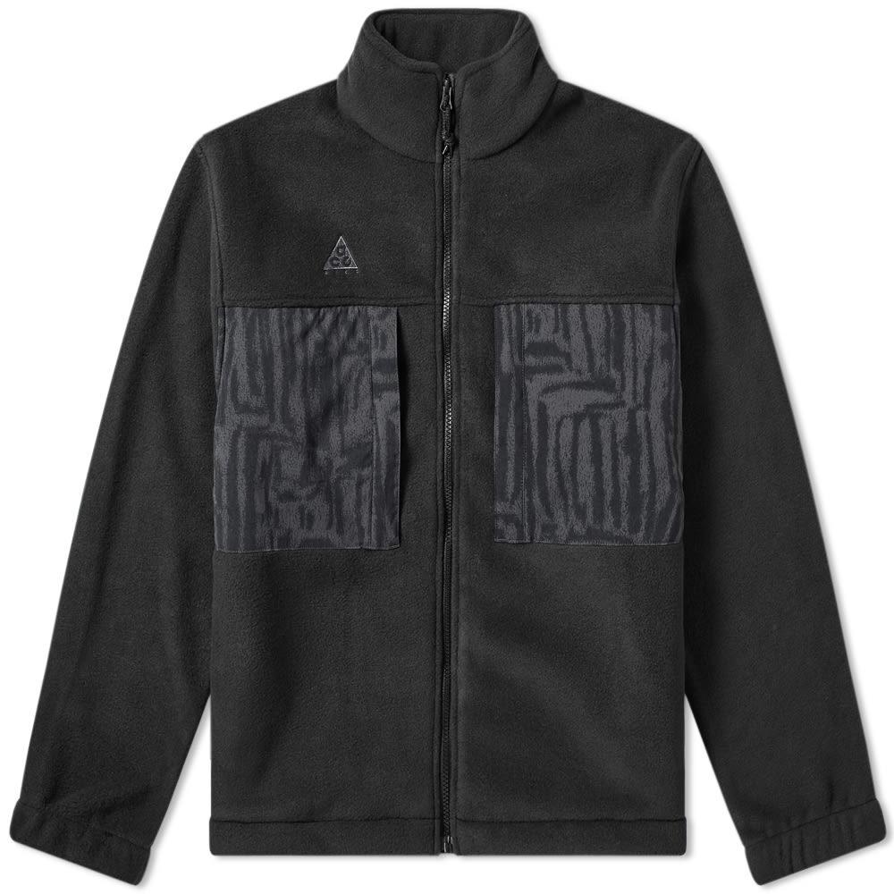 Photo: Nike ACG Fleece Jacket Black & Anthracite
