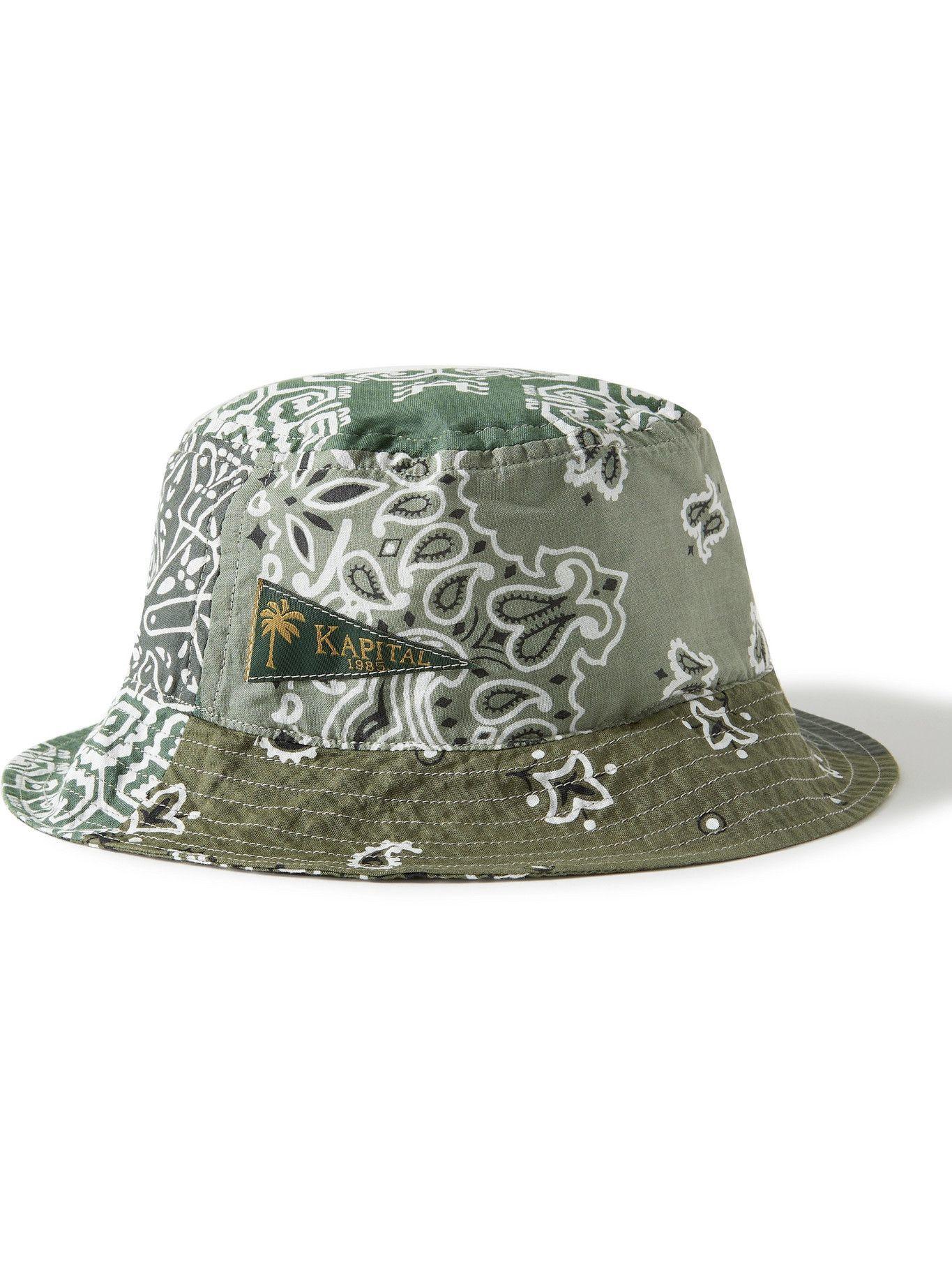 Photo: KAPITAL - Patchwork Bandana-Print Cotton Bucket Hat