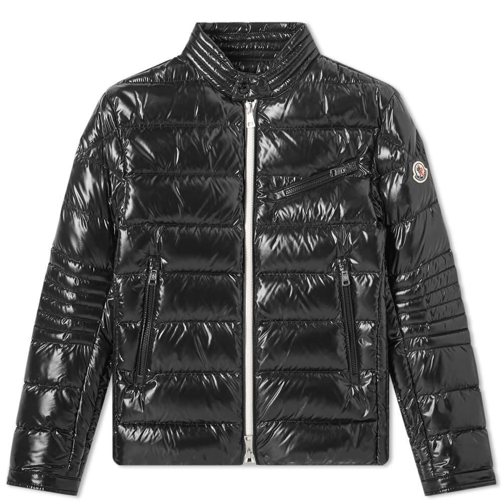 Photo: Moncler Berriat Down Biker Jacket