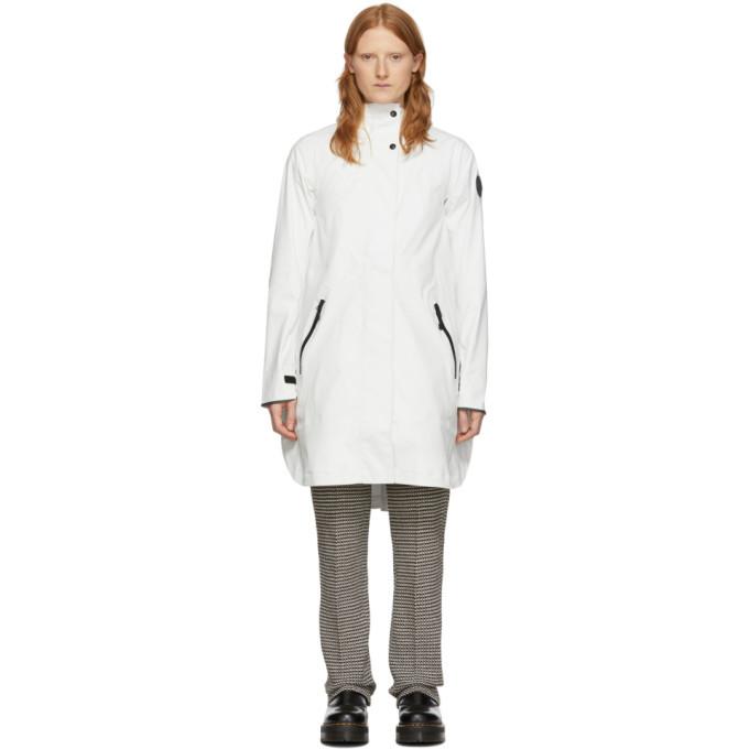 Photo: Canada Goose White Kitsilano Coat
