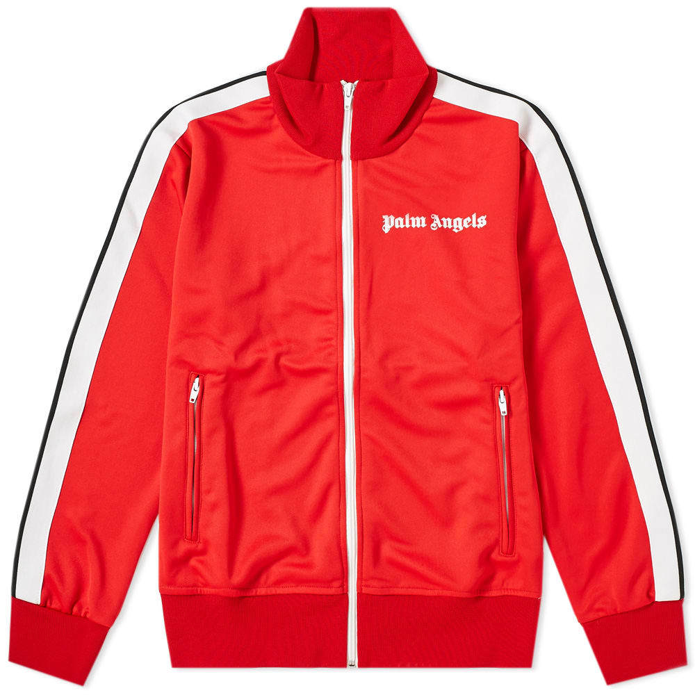 Photo: Palm Angels Taped Track Jacket