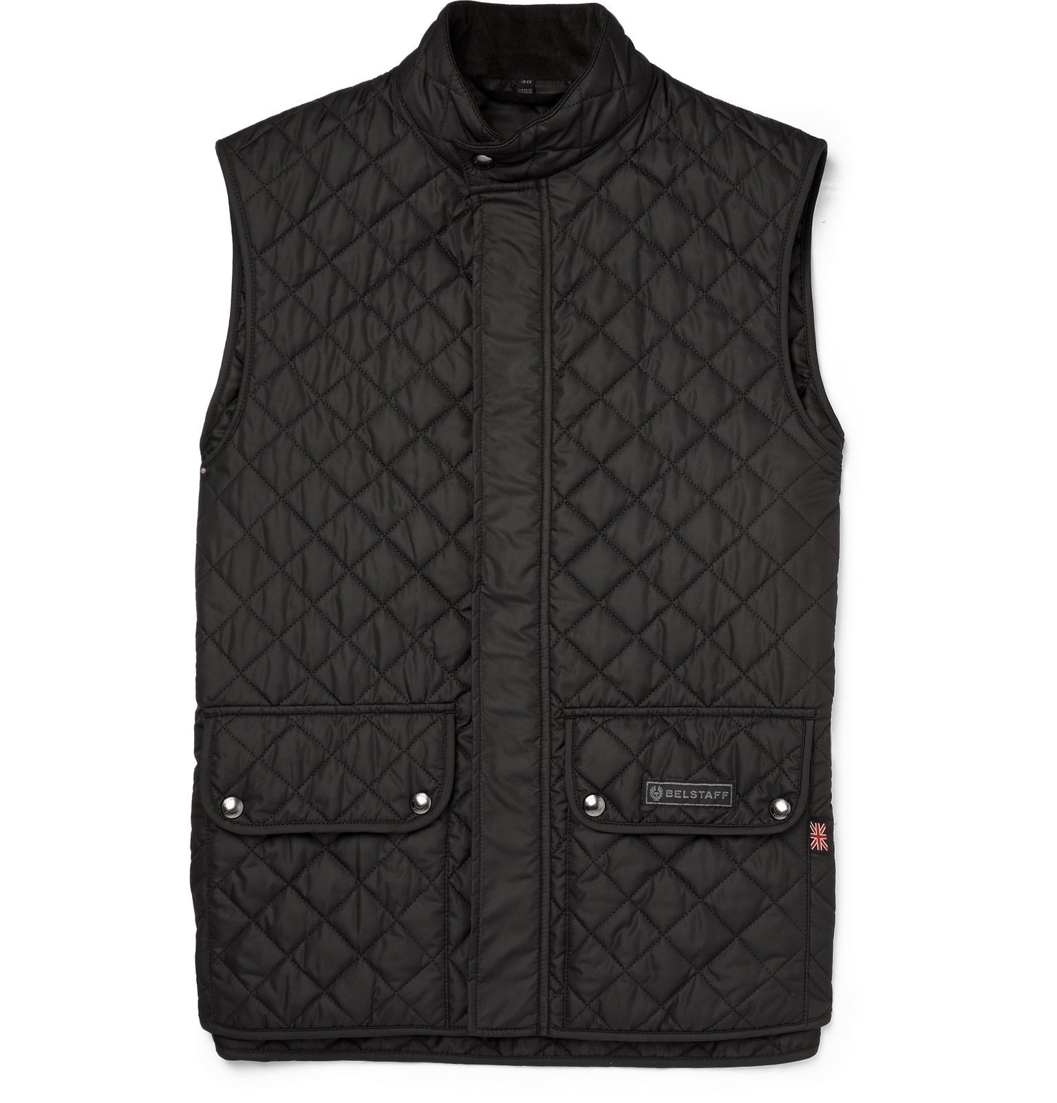 Belstaff - Slim-Fit Quilted Shell Gilet - Black