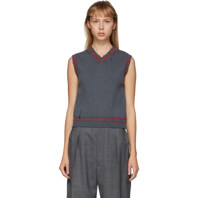 Photo: Maison Margiela Grey Gauge 7 Vest
