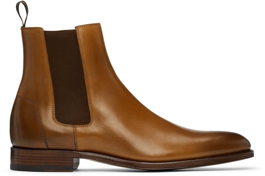 Photo: Dunhill Brown Kensington Chelsea Boots