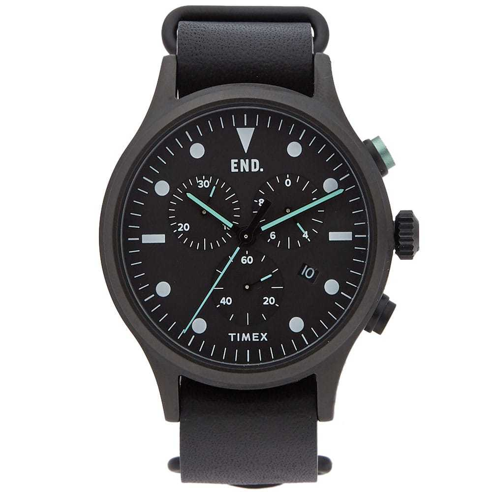 Photo: END. x Timex Allied Chronograph 'Blackout'