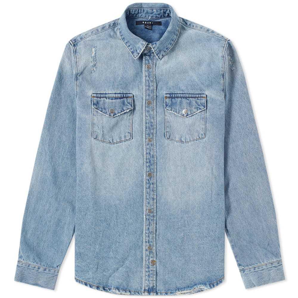 Ksubi Frontier Shirt Voltage Blue